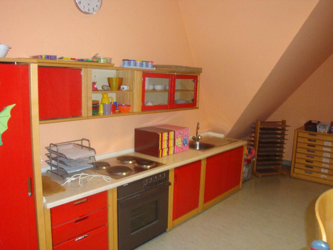 Kinderküche im Betreuungsraum
